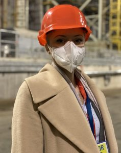 Kateryna Pavlova served as acting head of the Chernobyl Exclusion Zone during the 2020 wildfires and COVID-19 pandemic. Photo permission from Kateryna Pavlova.