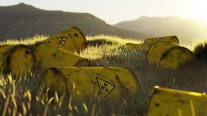 Radioactive waste barrels. Credit: Recognize Productions from Pexels. Public domain.