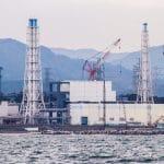 Fukushima Sea Water Sampling-3. The damaged Fukushima Daiichi Nuclear Power Station as seen during a sea-water sampling boat journey, 7 November 2013. IAEA marine monitoring experts were sent to Japan to observe sea water sampling and data analysis. Photo accessed by Flickr. CC BY-SA 2.0.