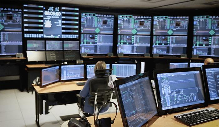 SMR control room simulator