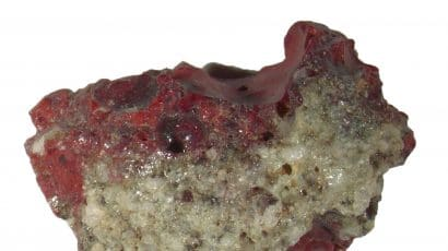 Red trinitite: L. Bindi and P.J. Steinhardt. Used with permission.
