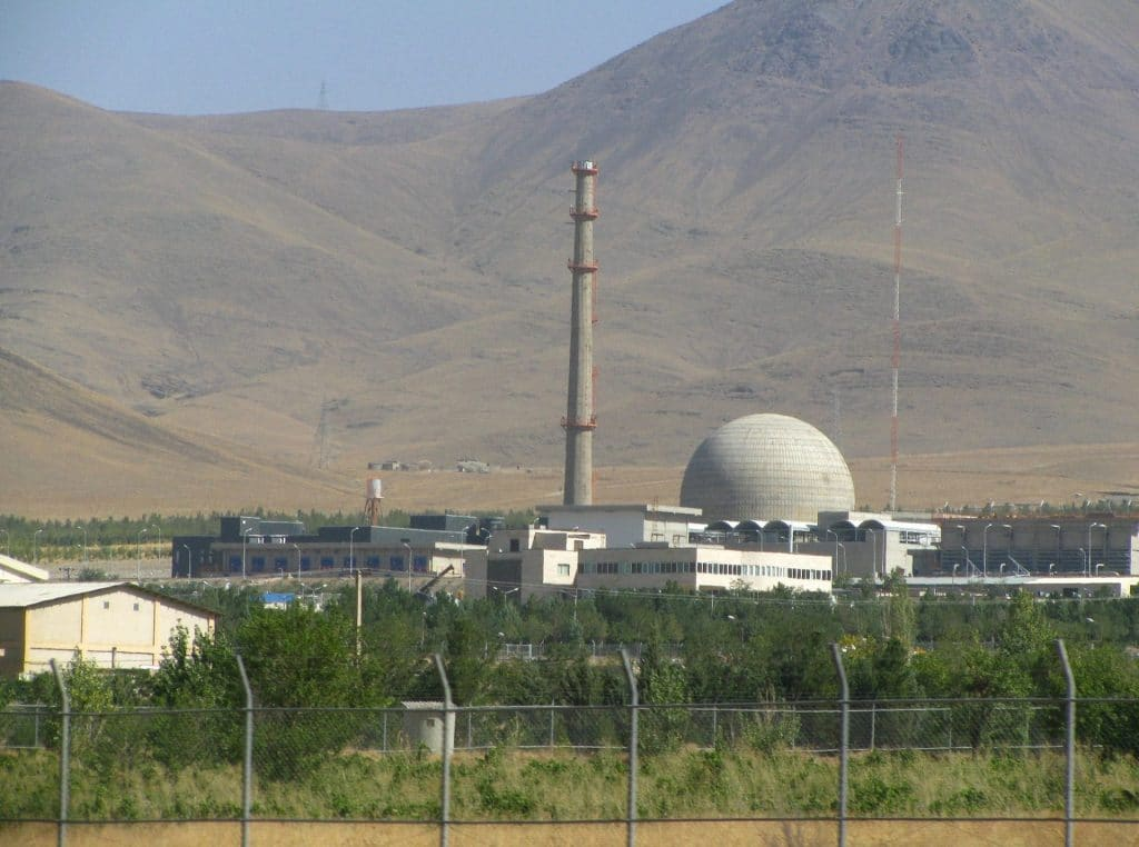 Arak IR-40 heavy water reactor, Iran. Credit: Nanking2012. CC BY-SA 3.0 Accessed via Wikimedia Commons.