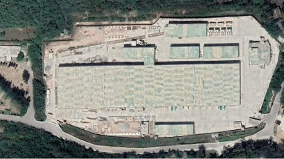 A large suspected enrichment facility has been constructed at the Kahuta complex since 2014.