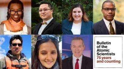 Photos of 2021 Bulletin Editorial Fellows