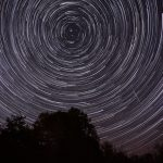 Orionid Star Trail Composite. Credit: ikewinski. Accessed via Creative Commons. CC BY 2.0.