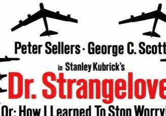 "Poster for Stanley Kubrick's ""Dr. Strangelove"""
