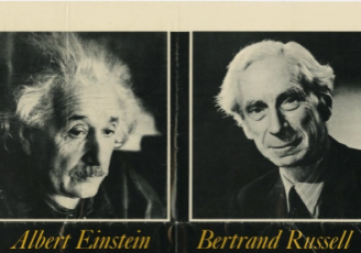 Bertrand Russell and Albert Einstein's Manifesto