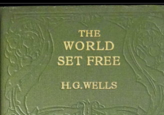 "The cover of ""The World Set Free"" by H.G. Wells"